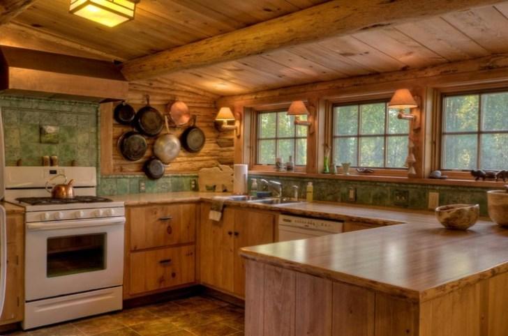 Rocking Cabin Kitchen Ideas