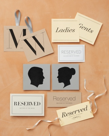Download these awesome signs to help guests navigate your venue