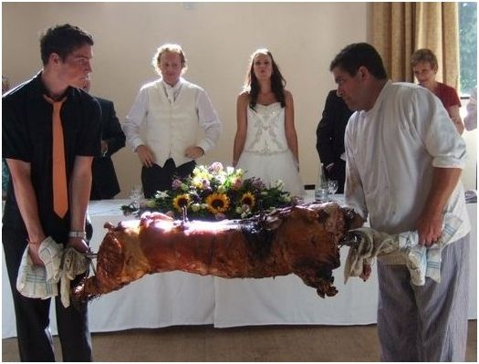 Pig Roast Reception