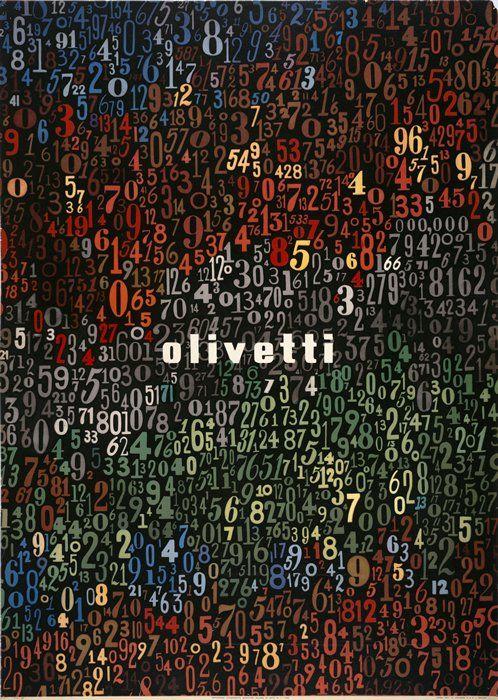 Giovanni Pintori, poster Olivetti, 1949