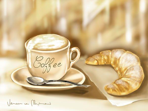 cofee art -Cute