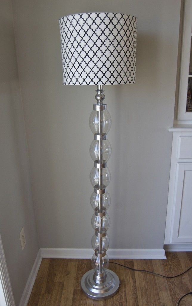 Upcycled lamp transformation