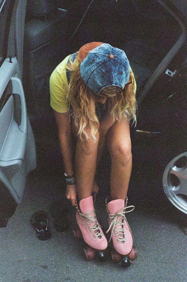 Rollerskates | skate | skater girl | vintage fun | rollergirl