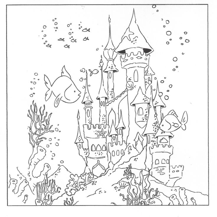 underwater coloring pages pinterest