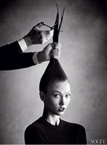 karlie kloss hair cut