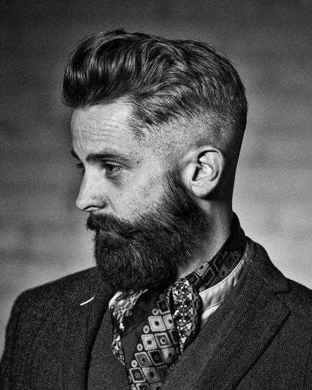 Barbe de hipster bobo