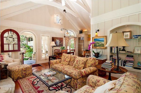 Casual Country Living Room Furniture