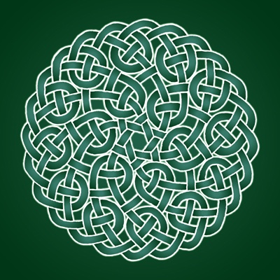 The beauty of Geometry in this Celtic knot. Yours at http://www.redbubble.com/people/tudi/works/9392282-celtic-knot-nudo-celta