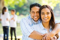 Cute married couple Stock Photography