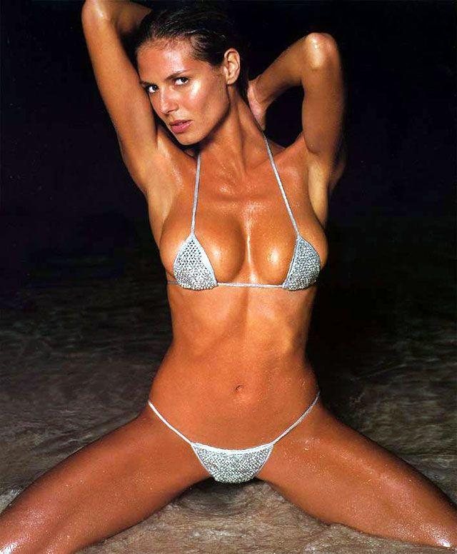 Image result for heidi klum, bikini