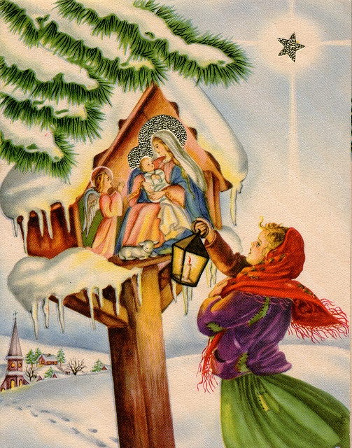 Polish Christmas card 13 by Orchard Lake,