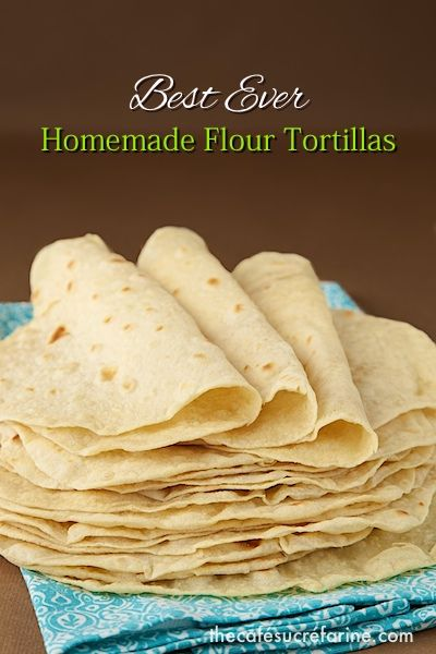 These will make the simplest fare quite company-worthy! Everyone who tries them goes quite crazy over them! Best Ever! Homemade Flour Tortillas