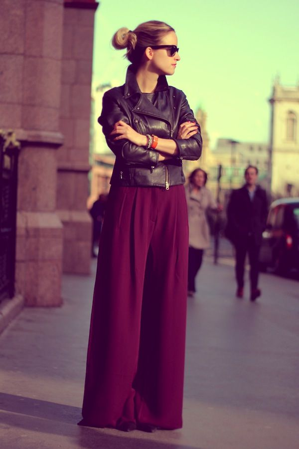 Palazzo Pants- Want to wear this today!!!