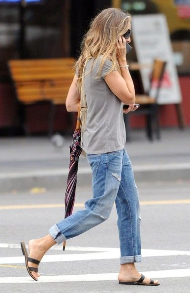 Boyfriend Jeans And . . . (How To Style Your Boyfriend Jeans) | Family Style