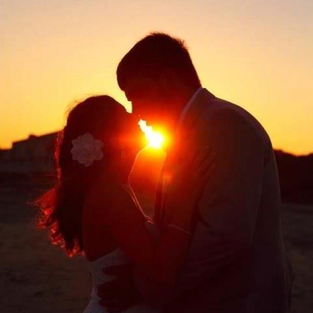 Sunset wedding :)