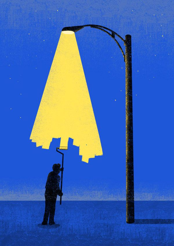 A Positive Light on Negative Space by Artist Tang Yau Hoong - Enpundit
