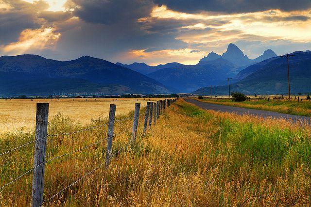 My side of the Tetons | Driggs, Idaho