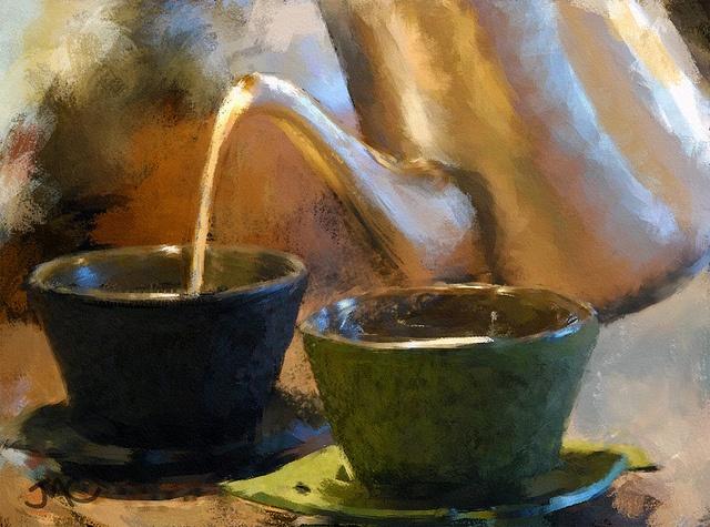 Tea with God : I love the childlike poem too