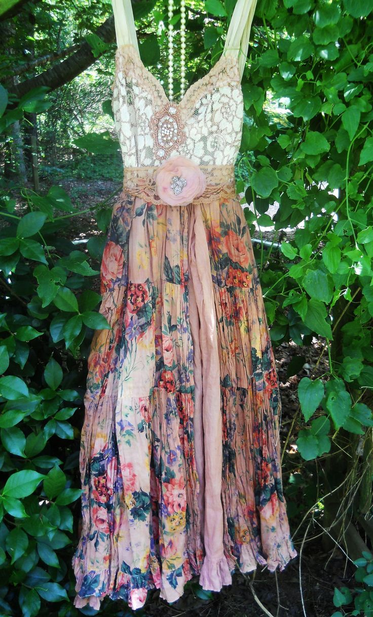 tea stained romantic shabby wedding  prairie bohemian rose