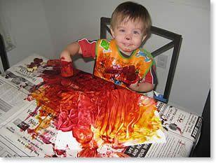 Resultado de imagen de toddler art
