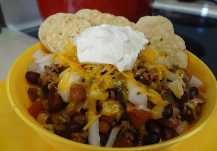taco salad 1 Food and Everything Else Taco Soup