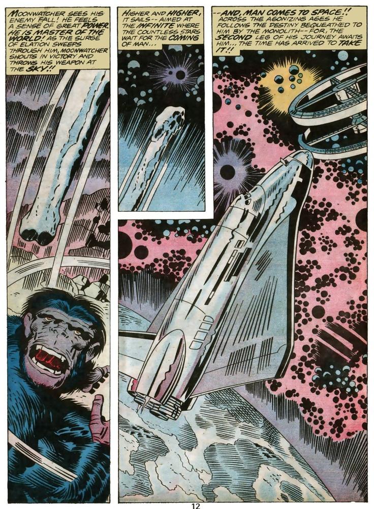 Jack Kirby's 2001: A Space Odyssey