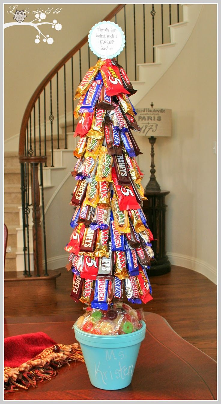 DIY Candy Tree.