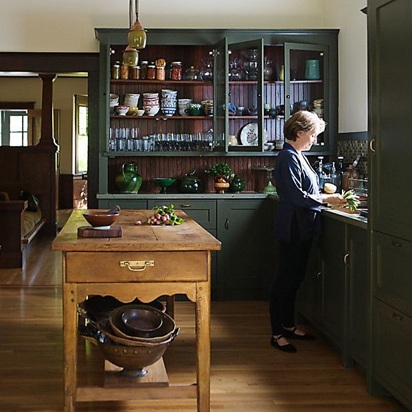 Alice Waters Her Home Kitchen
