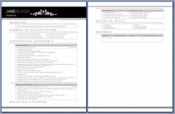 Waitress Resume Examples - Cover Letters and Resume