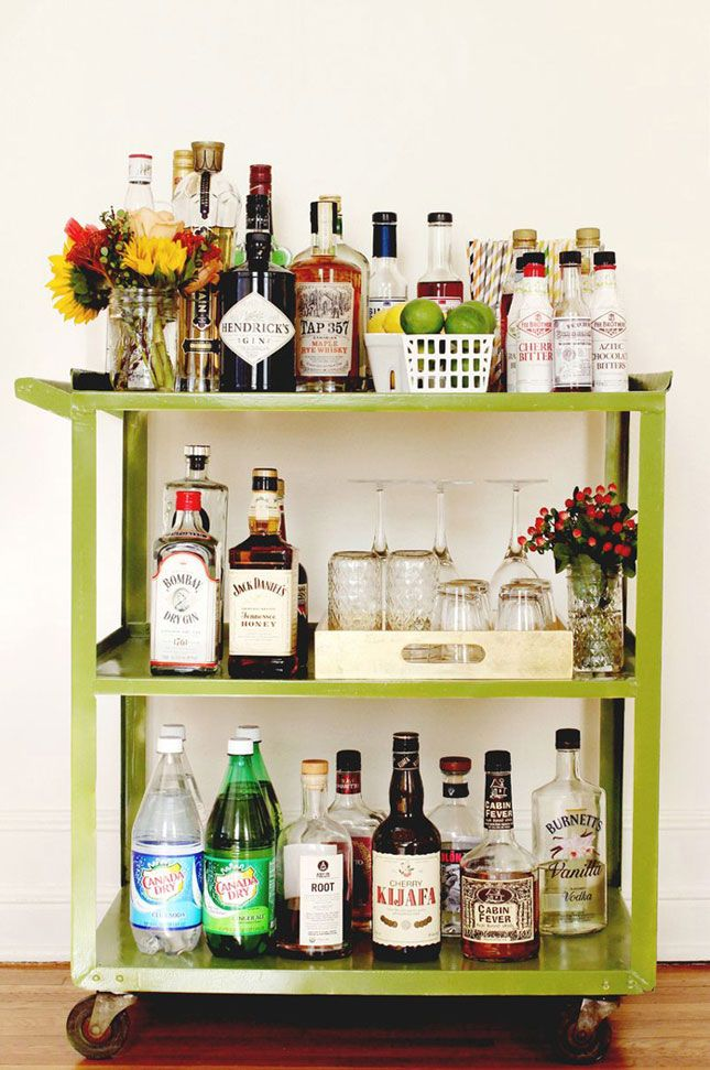 The Perfect Bar CartThe Perfect Bar Cart