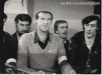 1981, KWK Sosnowiec, strajk po podrzuceniu trującego gazu, relacja w TVP  2. od pr. red. Stefan Kosiewski, rzecznik prasowy http://panoramio.com/photo/58718837