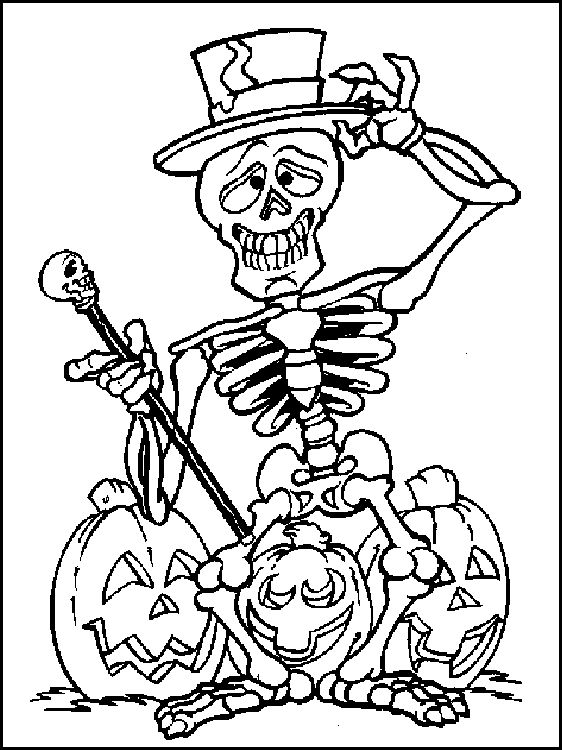 skeleton pumpkin coloring sheet coloring sheets amp activities pint