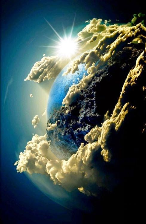 Amazing Earth. And they say there is no God.