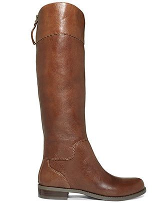 Nine West Boots, Counter Zip-Back Wide-Calf Riding Boots - Wide Calf Boots - Shoes - Macy's