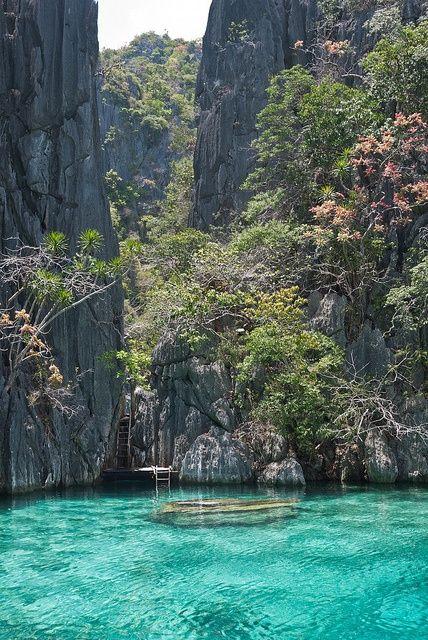 Turquoise Water, Twin Lagoon, Coron, Philippines