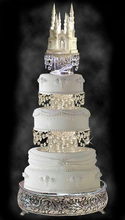 My Next Cake!  ;-) #bridal #wedding #cake #castle