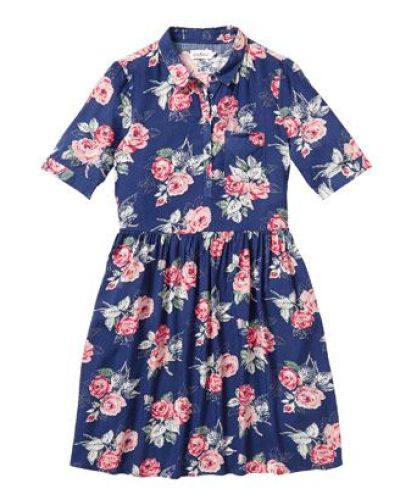 Cath Kidston Grove Rose Dress with Collar