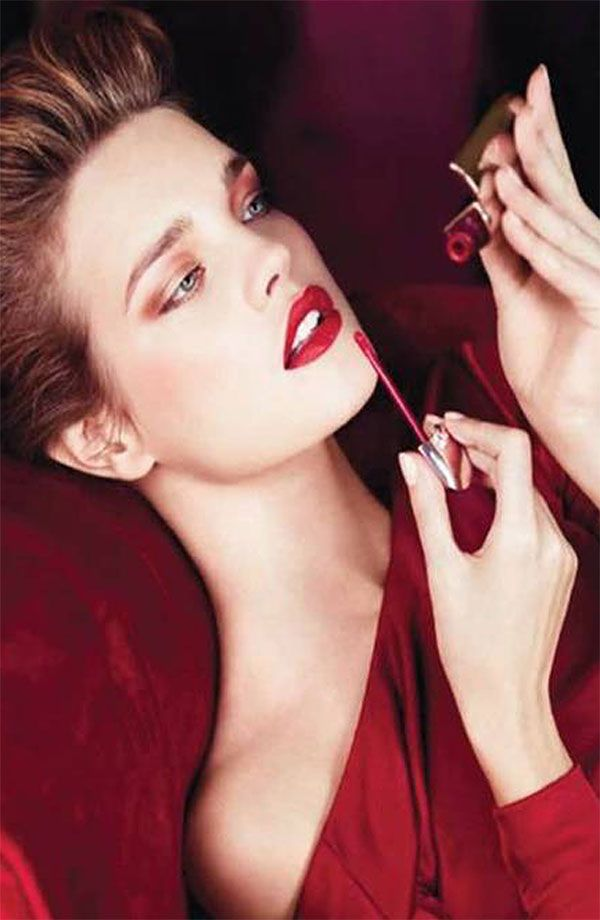Stand-out red lips