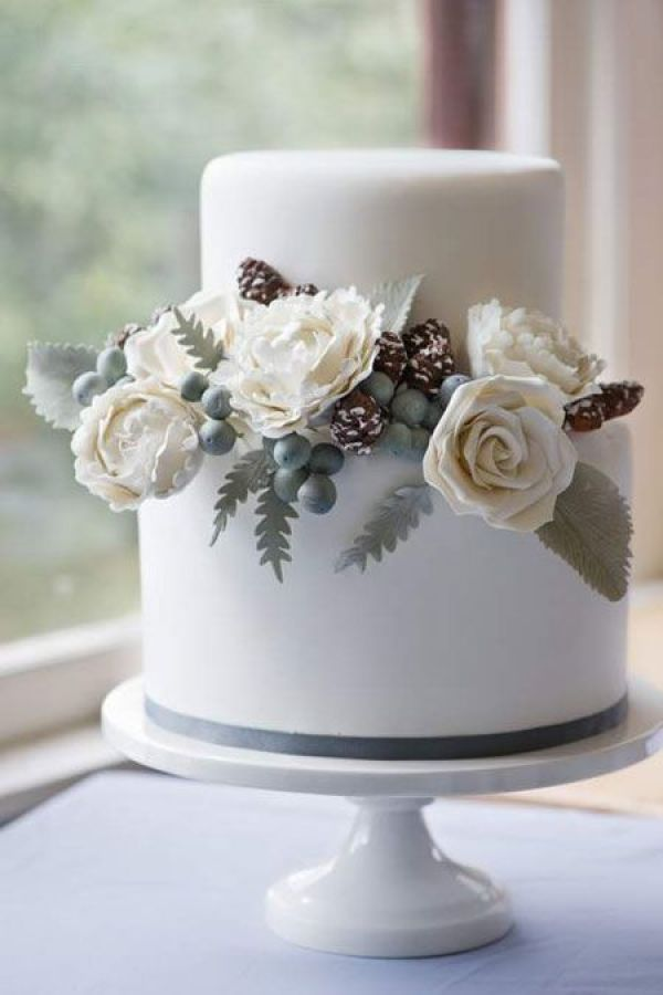 7 Must-Haves in a Winter Wedding: Wedding Cake. http://memorablewedding.blogspot.com/2013/10/7-must-haves-in-winter-wedding.html