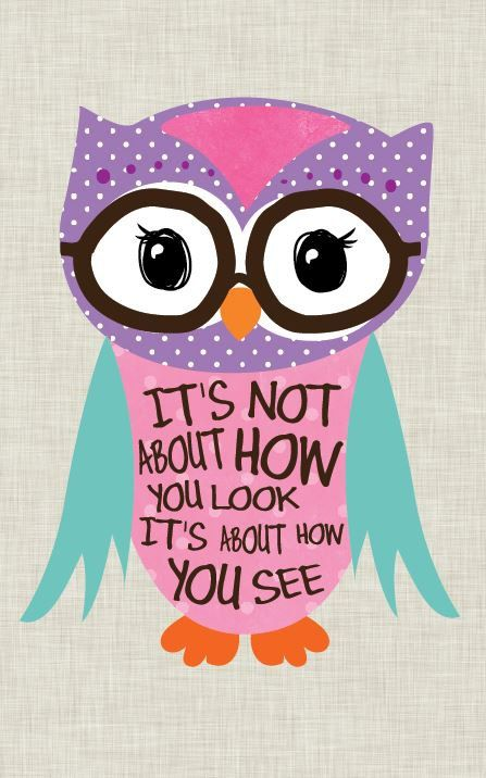 Tween Girl Art, Owl art, Nerd Owl. Home Decor, Inspirational Art, art print on wood by Jennifer McCully