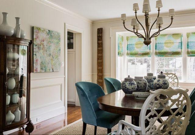 dining room   Katie Rosenfeld Design