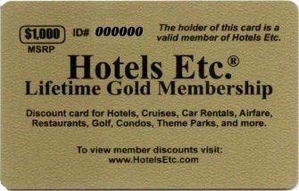 Hotels Etc. Lifetime Gold Membership – Image Copyright PinImg.Com