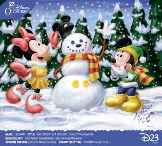 Disney D23 Christmas