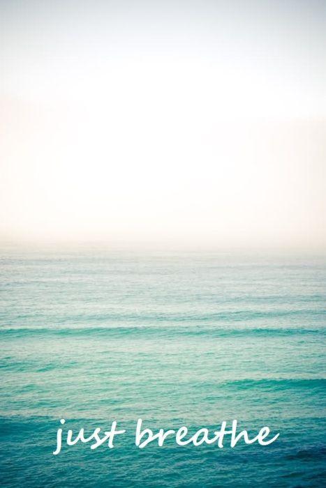 just breathe... #beach #quote #photo