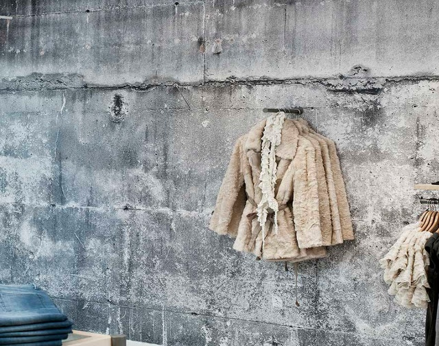 concrete wall paper