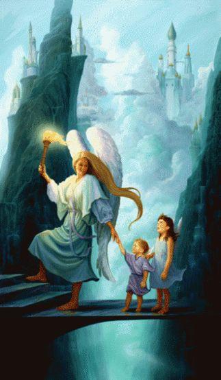 Angles guiding our path // Los ángeles guiando nuestro camino.