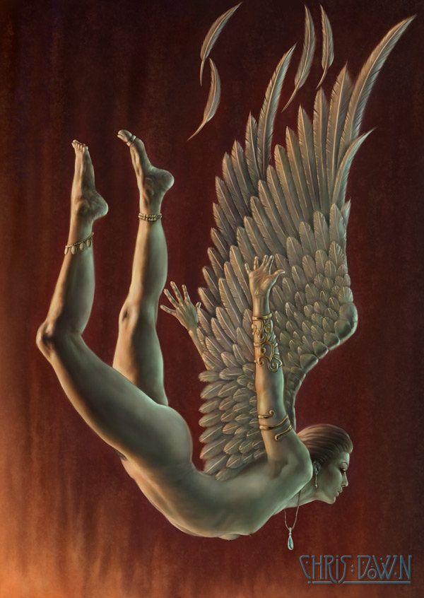 Falling angel...