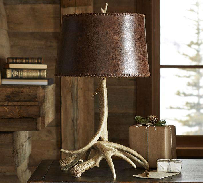 PB Antler Lamp