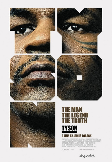 Mark Gowing, Hopscotch Films  Tyson, Film poster by Eye magazine, via Flickr