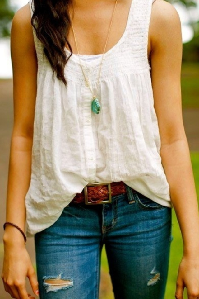 Country looking outfit... Love the shirt cute but simple